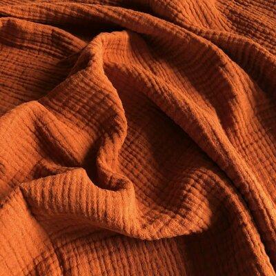 Muselina Uni - Rust