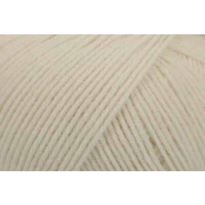 Peach Cotton 50 gr - White 00101