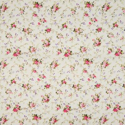 Poplin imprimat - Chintz Floral Ecru