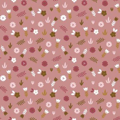 Poplin imprimat - Floral Blush