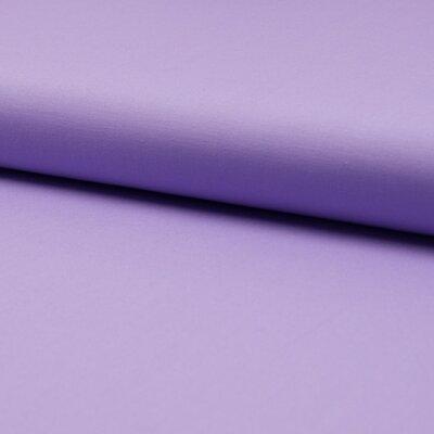 Poplin stretch din bumbac - Liliac