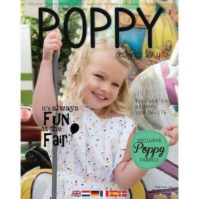 Revista tipare copii - Poppy Magazine nr 12