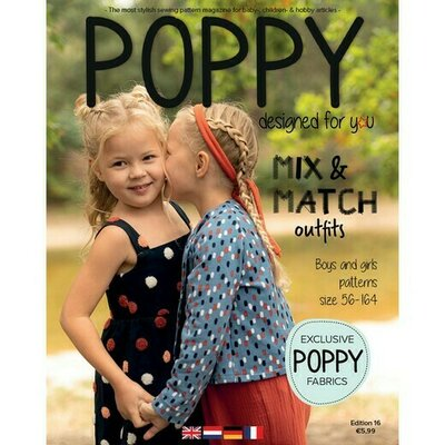 Revista tipare copii - Poppy Magazine nr 16