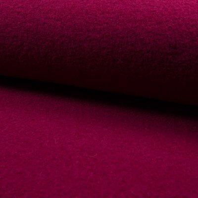 Tesatura din lana fiarta - Cherry