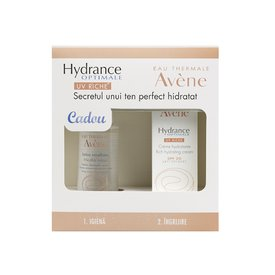 Avene Hydrance Optimale Riche Crema Spf 20 40ml + Lotiune micelara 100ml