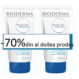 Bioderma Node D.S. + sampon antimatreata 125 ml +125ml -70% la al doilea sampon
