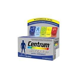 CENTRUM Silver 50+ pentru Bărbaţi 30 comprimate