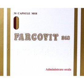 FARCOVIT B12, 30 capsule moi