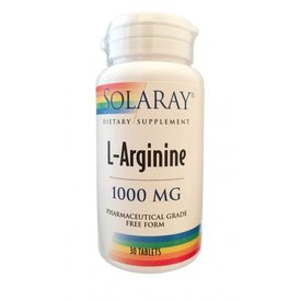 L-Arginine, 1000 mg, 30 tablete