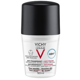 Vichy Deodorant Roll-on Antiperspirant Anti-Urme Barbati 50ml