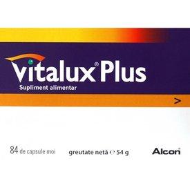 Vitalux Plus, 84 capsule moi
