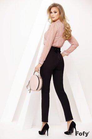Bluza dama Fofy cu jabou si buline roz