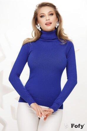 Helanca dama simpla albastru royal
