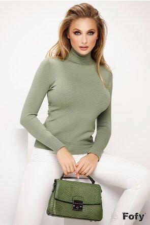 Helanca dama verde olive tip puloveras