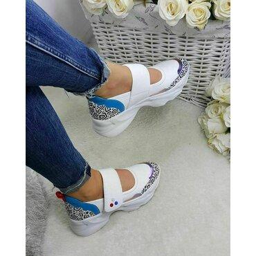 Pantofi casual color din piele naturala Como