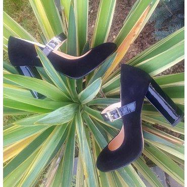 Pantofi dama negri Olivia