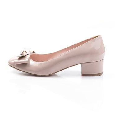 Pantofi de dama lac nude Mona