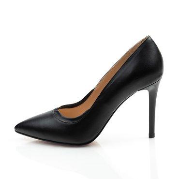 Pantofi negrii din piele naturala Verona 2