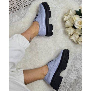 Pantofi oxford din piele naturala bleo Kelly