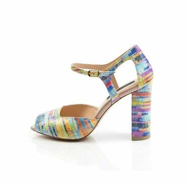 Pantofi piele color Iris
