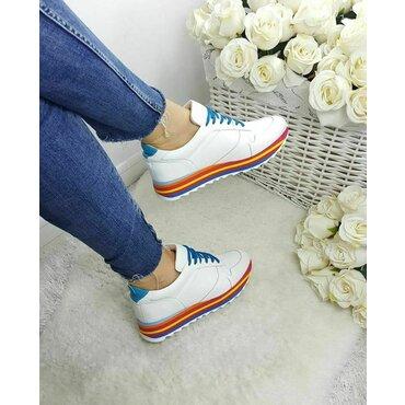Pantofi sport albi Basi