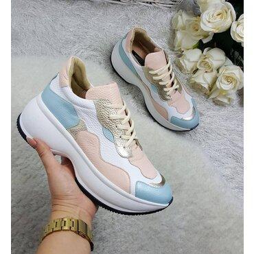 Pantofi sport din piele naturala Adel