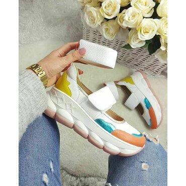 Pantofi sport din piele naturala Pansy