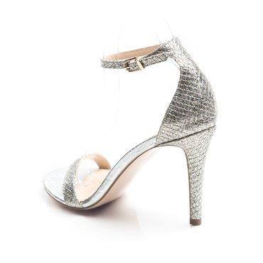 Sandale de ocazie glitter argintiu Scarlet