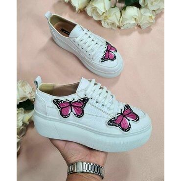 Sneakers de dama  albi Butterfly