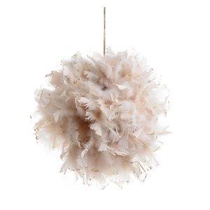 Adyne Decoratiune pene, Textil, Crem