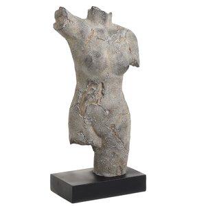 Afrodita Statueta Femeie, Polirasina, Gri