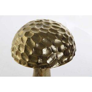 Ahiga Decoratiune ciuperca, Metal, Auriu