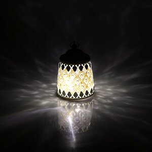 Amati Lampa led, Sticla, Alb