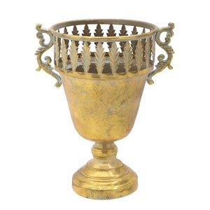 Amphora Vas decorativ, Metal, Auriu