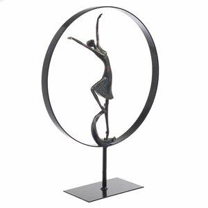 Anna Decoratiune balerina, Polirasina, Negru