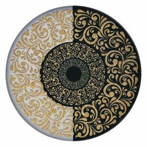 Arabesc Set 6 farfurii, Ceramica, Multicolor
