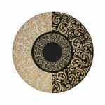 Arabesc Set 6 farfurii desert, Ceramica, Multicolor