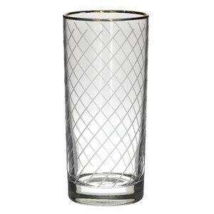 Arlo Set 6 pahare, Sticla, Transparent