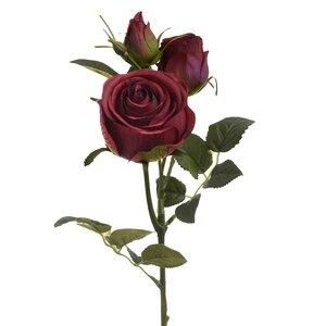 Artha Floare artificiala, Plastic, Rosu