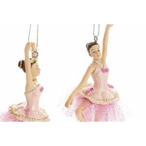 Ballerina Set 3 Decoratiuni suspendabile balerina, Rasina, Roz