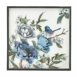 Blue Tablou, Lemn, Albastru