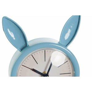 Bunny Ceas de masa, Metal, Albastru