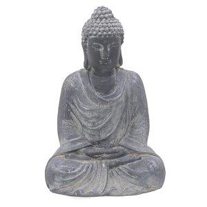 Burac Statueta, Polirasina, Gri