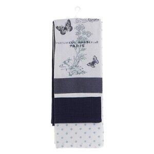Butterfly Servet bucatarie, Bumbac, Albastru