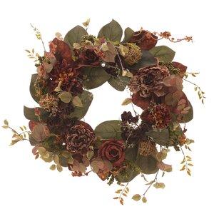 Carolyn Ghirlanda flori, Plastic, Rosu