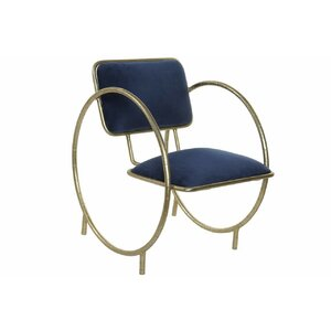 Circle Scaun, Metal, Albastru
