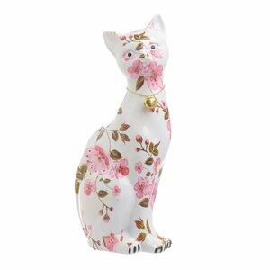 Clash Decoratiune pisica mare, Polirasina, Multicolor