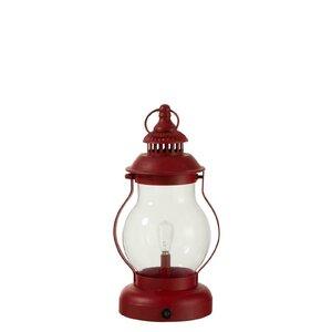 Clifton Felinar cu LED, Fier, Rosu