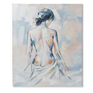 Dama Tablou, Canvas, Multicolor