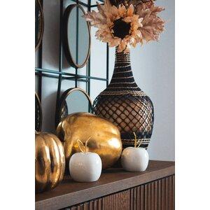 Delbert Decoratiune mare, Ceramica, Alb